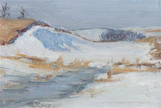 Winter on the Dunes by George Raab