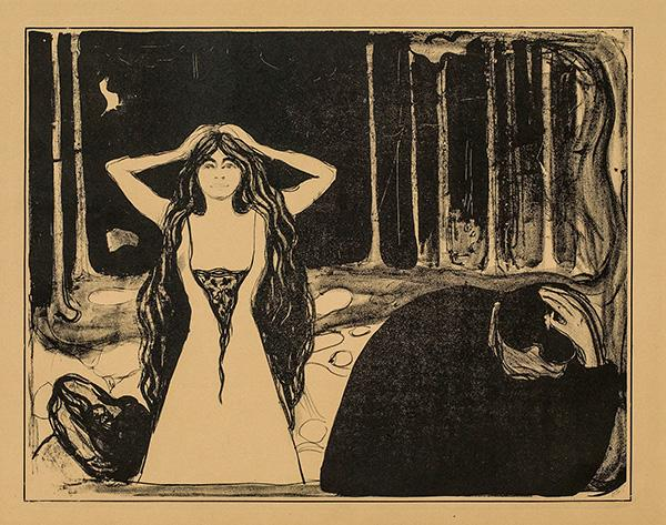 Asche II by Edvard Munch