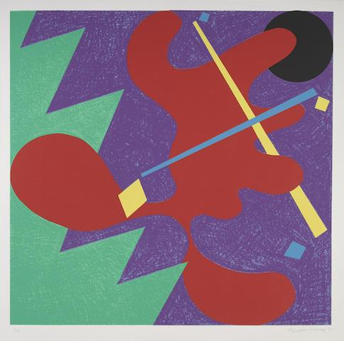 Untitled (Mostly Mozart Festival), 1979 by Elizabeth Murray