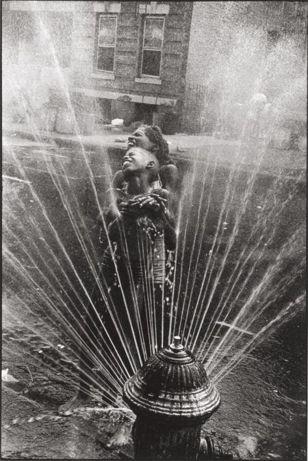 Hydrant, Harlem, N.Y. by Leonard Freed
