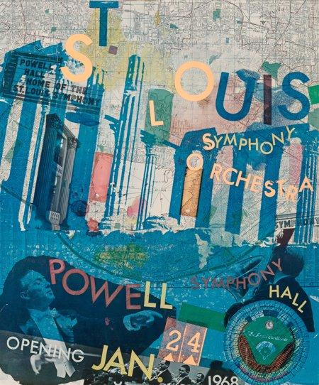 St. Louis Symphony Orchestra by Robert Rauschenberg