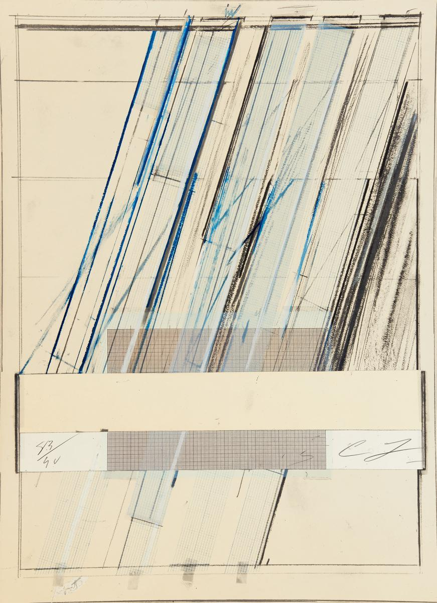Ohne Titel (Hommage ? Picasso) by Cy Twombly