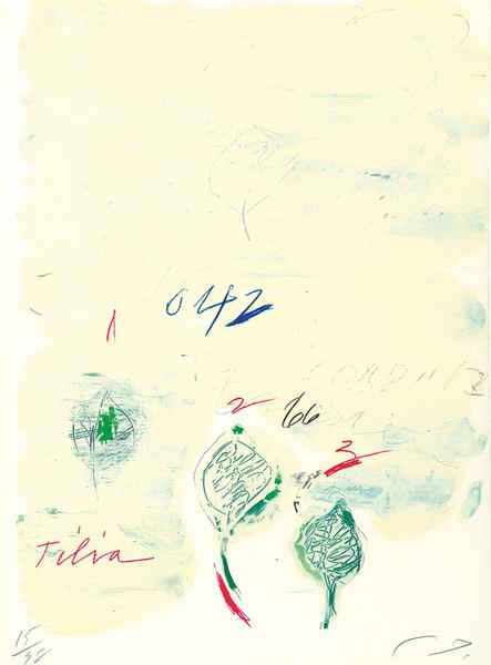 Tilia Cordata, from 'Natural History, Part II: Some Trees of Italy' by Cy Twombly
