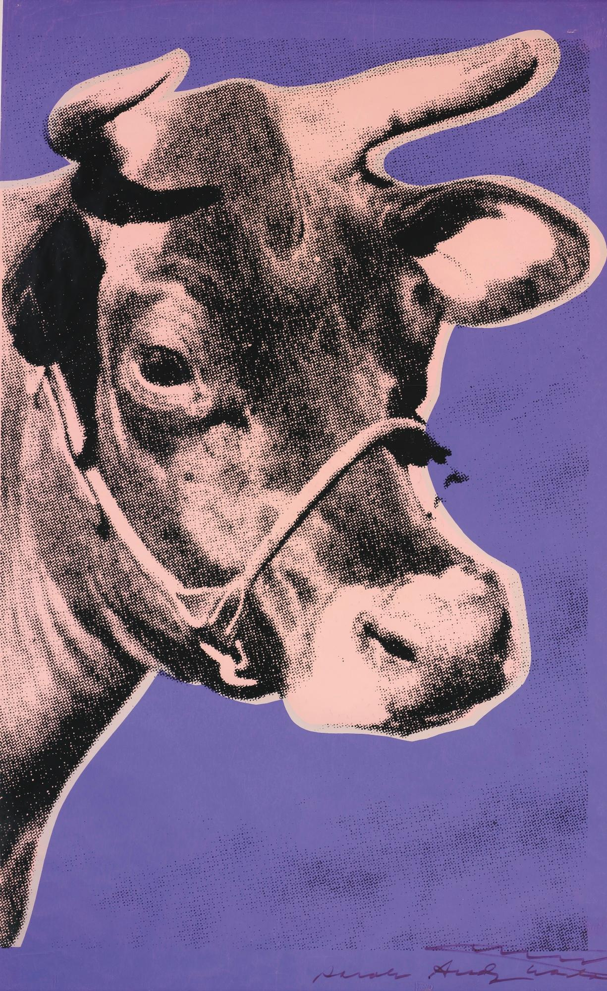 Cow (F & S II12a) by Andy Warhol