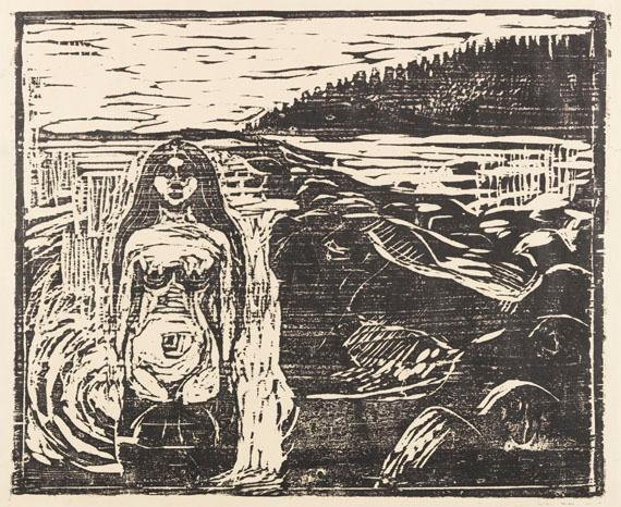 Badendes Weib by Edvard Munch