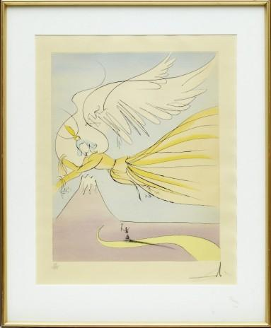 'Hagoromo (The robe of feathers)' ur 'Japanese fairy Tales' by Salvador Dali