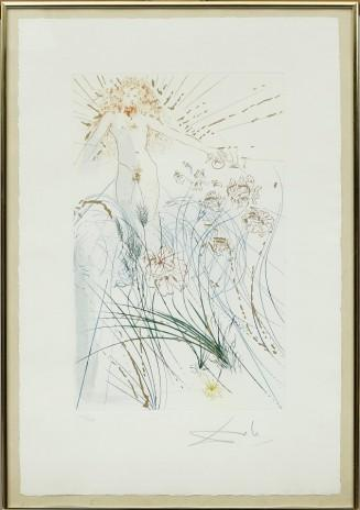 Ur 'Song of Songs of Solomon' by Salvador Dali
