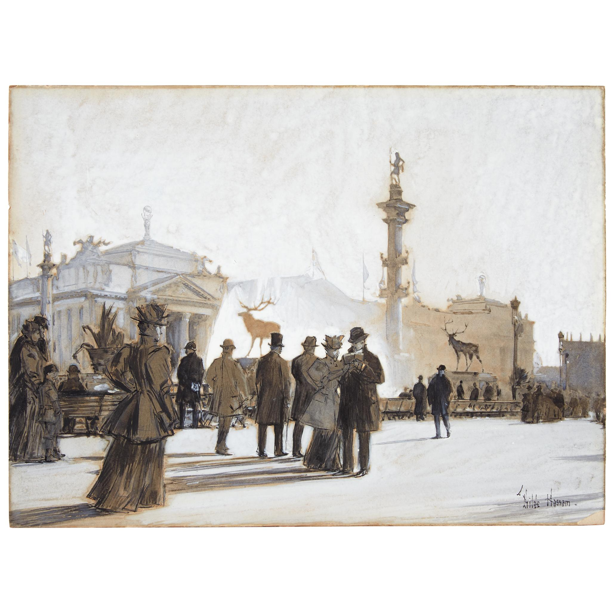 The World's Columbian Exposition, Chicago by Childe Hassam