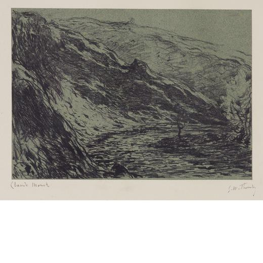 Gorge of the Petite Creuse by Claude Monet
