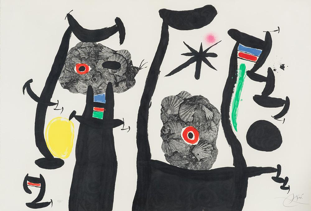 Les Coquillages (M. 641) by Joan Miro