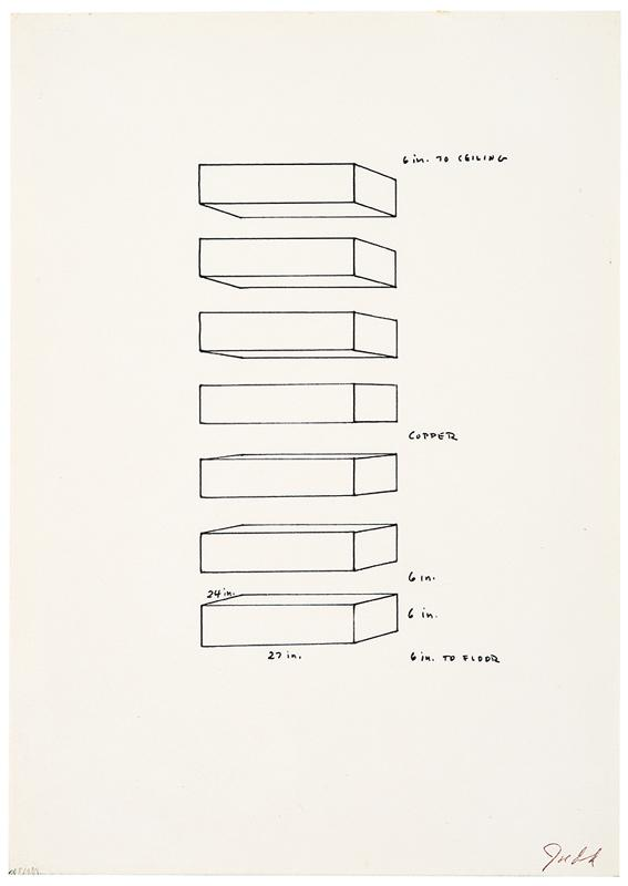 Untitled by Donald Judd