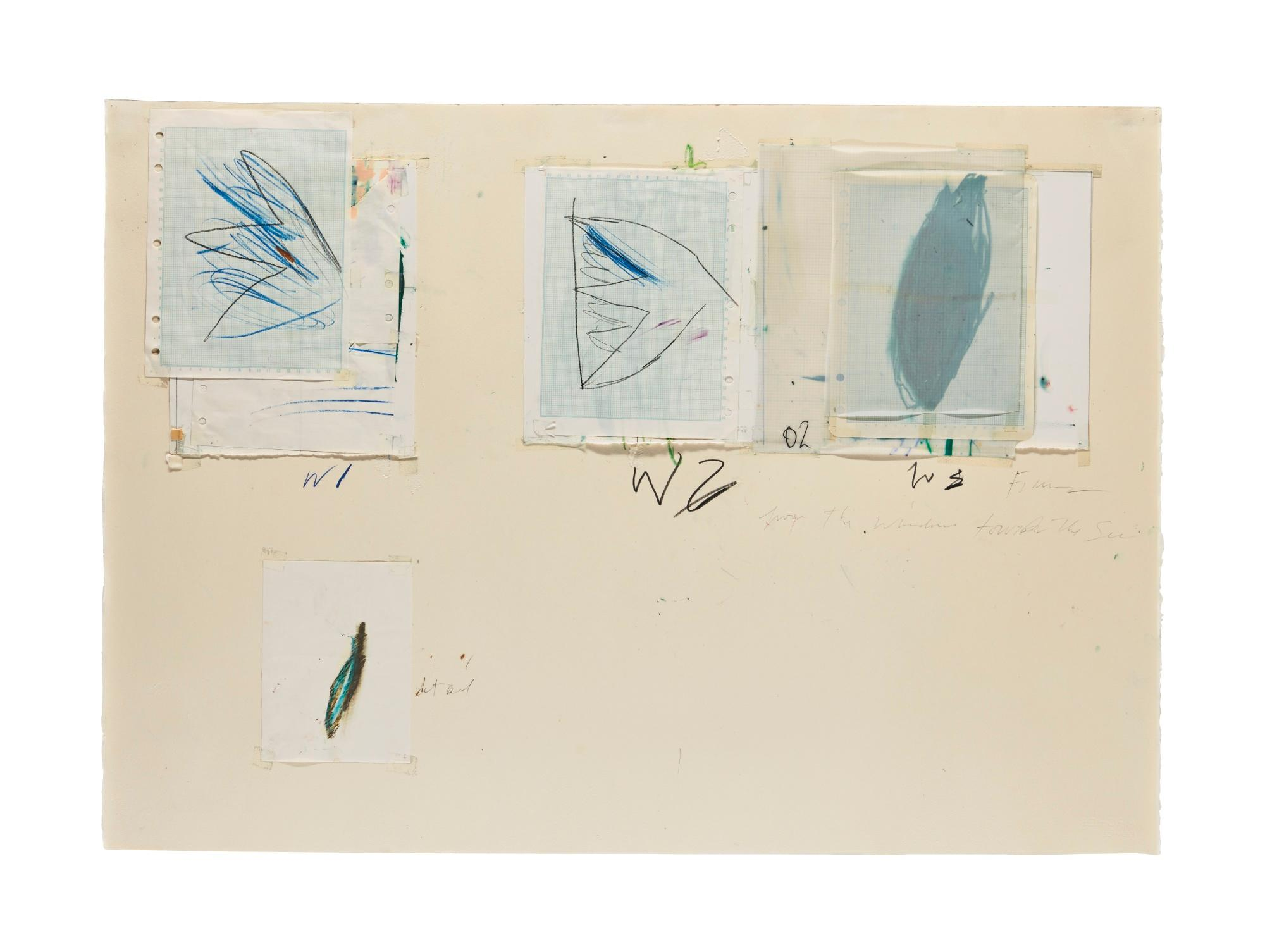 Untitled (Captiva Island, Florida) by Cy Twombly