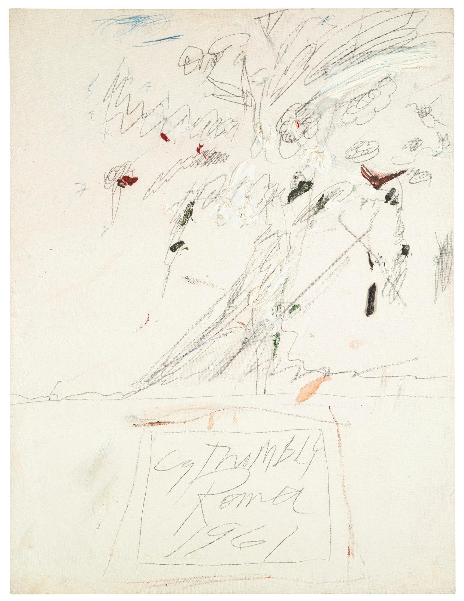 Untitled (Rome) by Cy Twombly