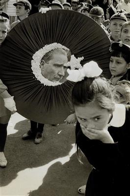 Celebration in Honour of Atat? by Henri Cartier-Bresson