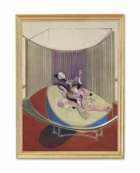 Version No. 2 of Lying Figure with Hypodermic Syringe by Francis Bacon