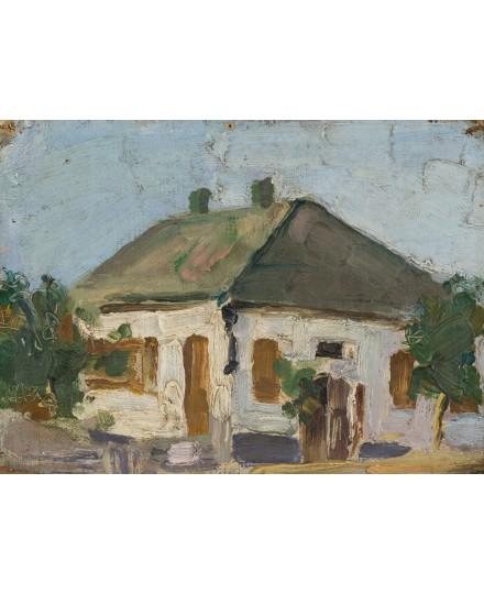 A house in the village by Vladimir Baranoff-Rossine