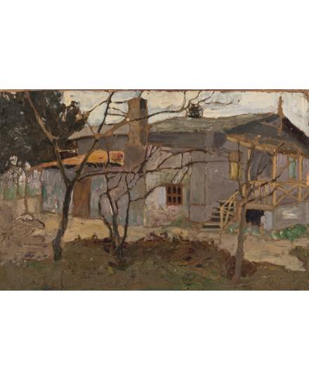 A view of the house by Vladimir Baranoff-Rossine