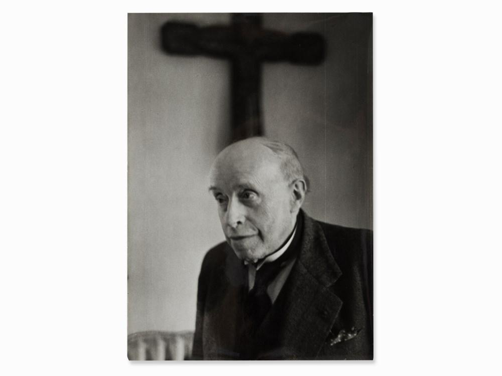 Georges Rouault by Henri Cartier-Bresson