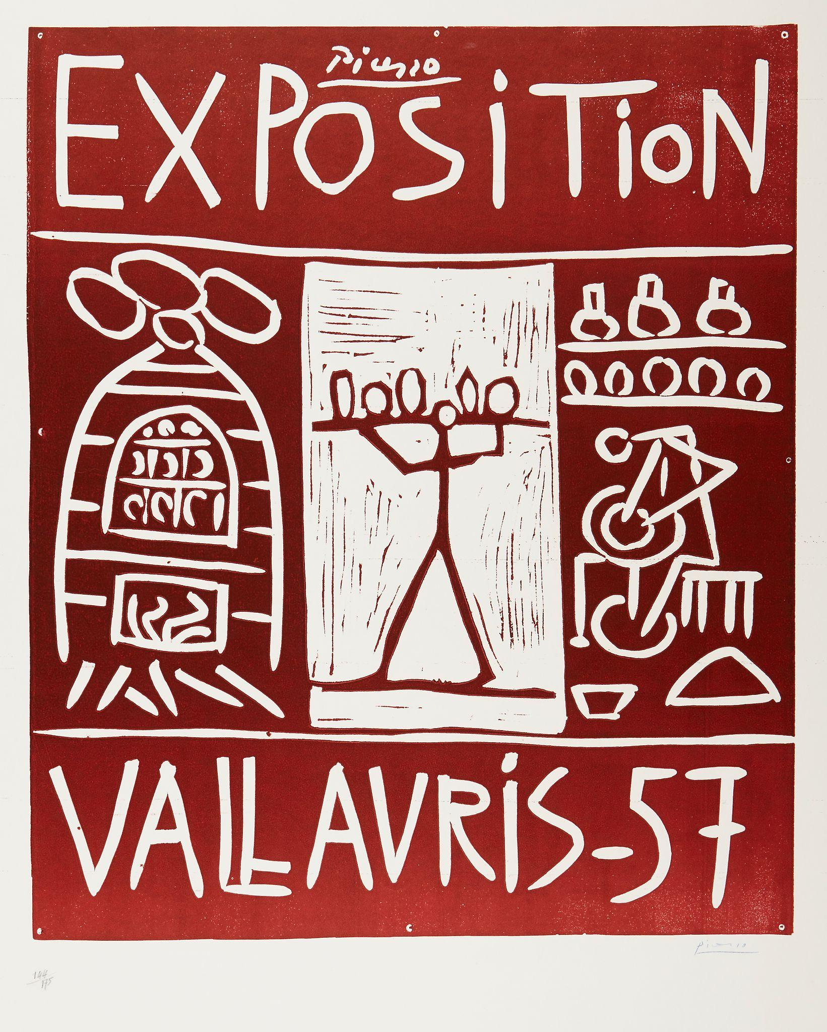 Exposition Vallauris (B 1277) by Pablo Picasso