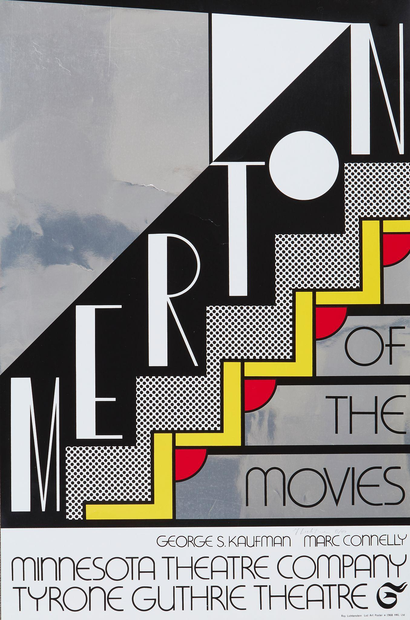 Merton of the Movies (C 61) by Roy Lichtenstein