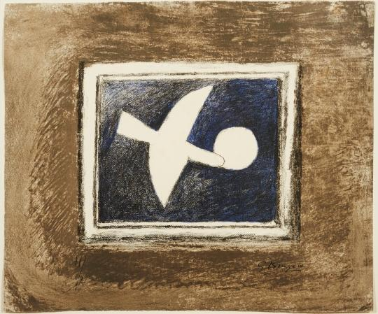 Astre e Oiseau I by Georges Braque