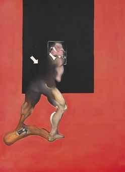 Study from human body by Francis Bacon