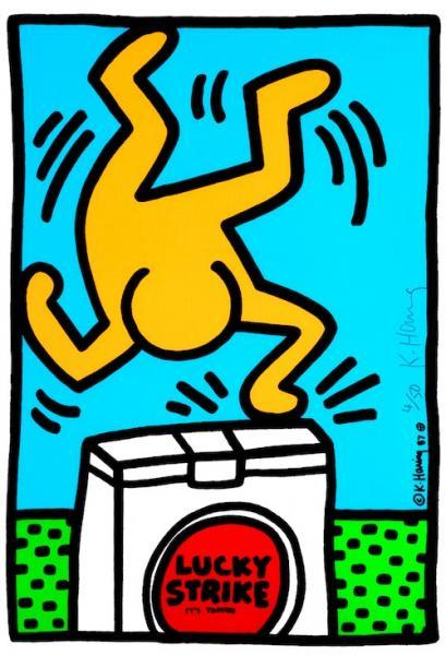 Lucky Strike by Keith Haring