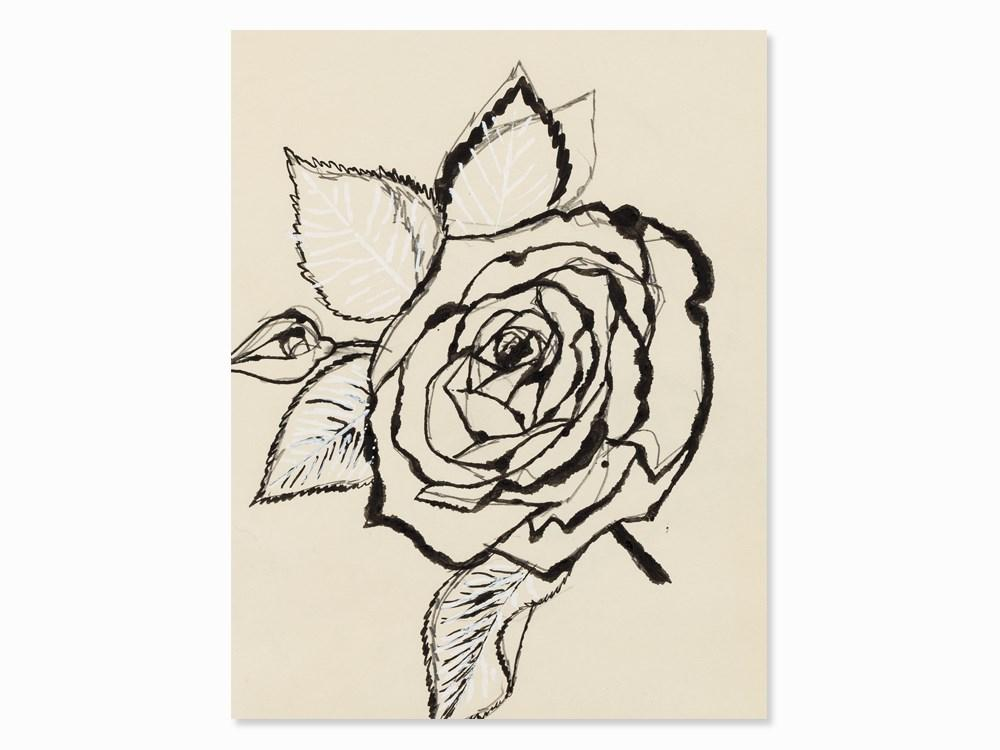 Rose by Andy Warhol