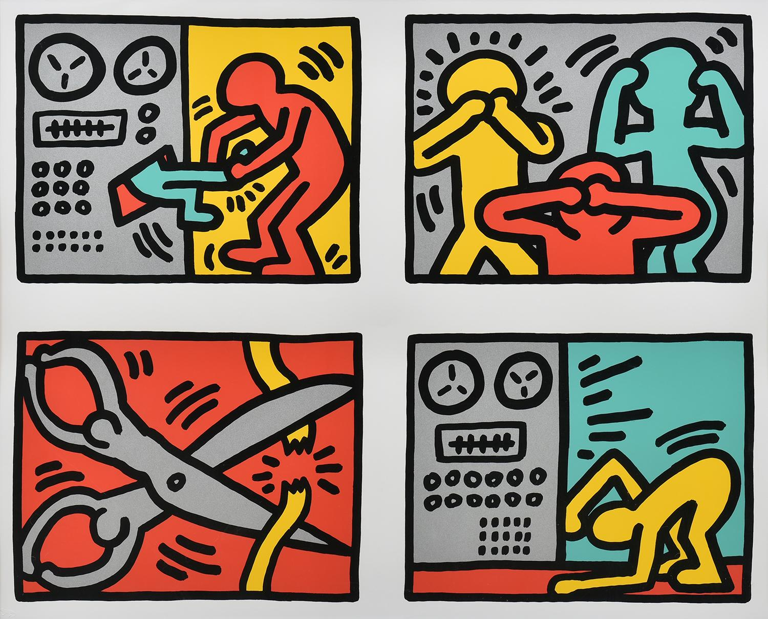 Pop Shop Quad III by Keith Haring