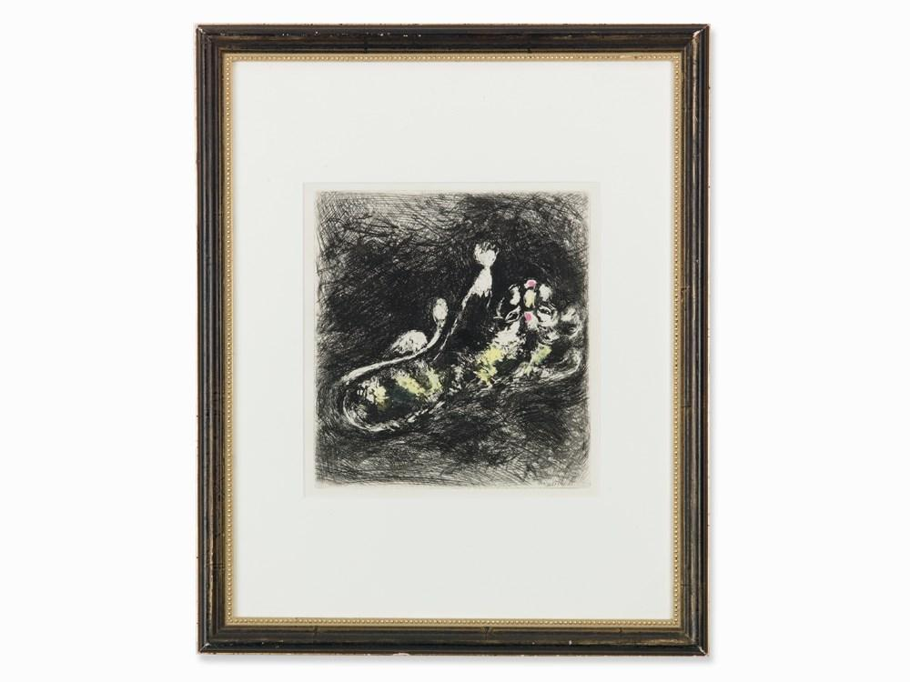 The Lion and The Midge by Marc Chagall