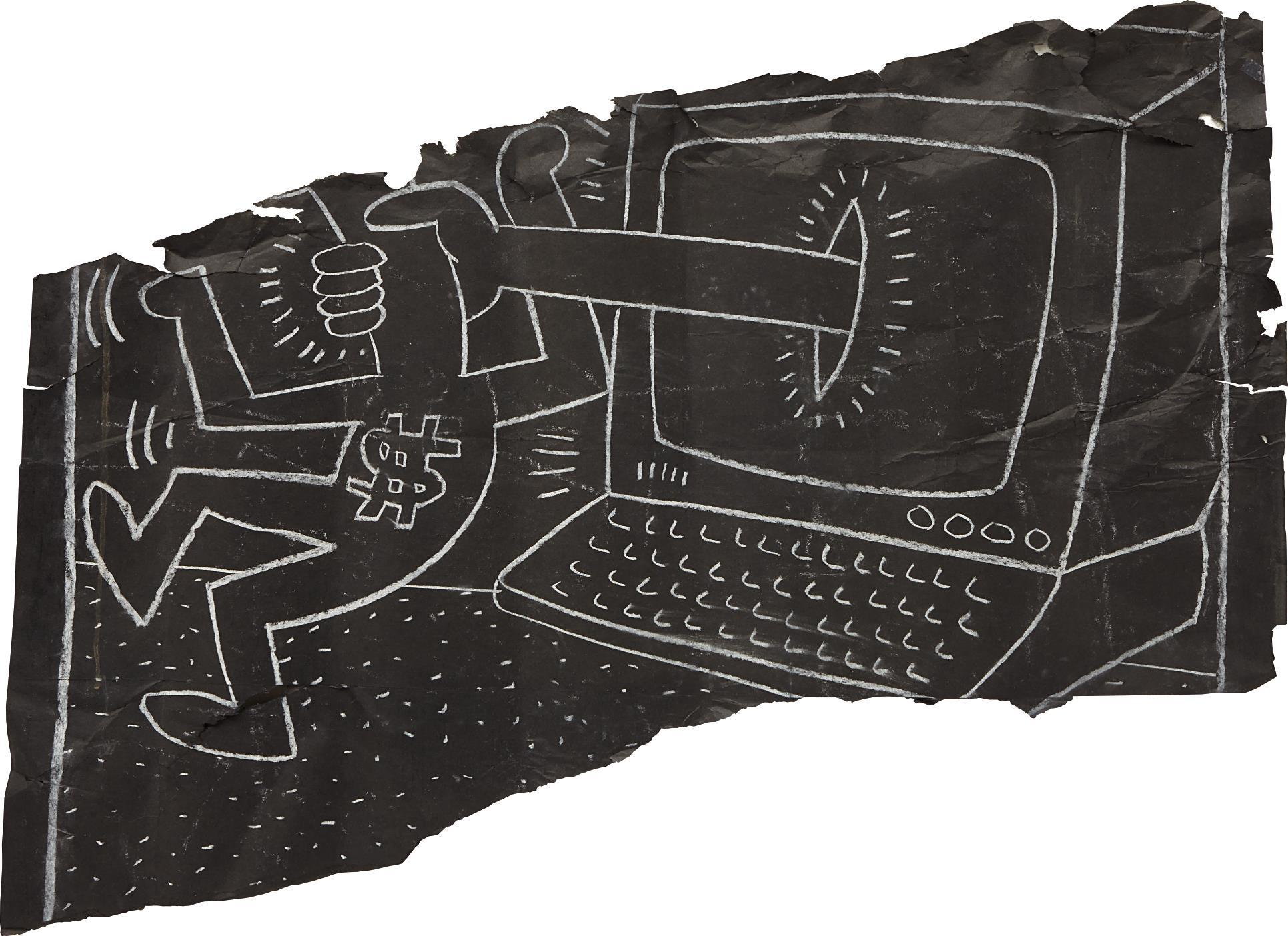 It's Not a Laptop by Keith Haring
