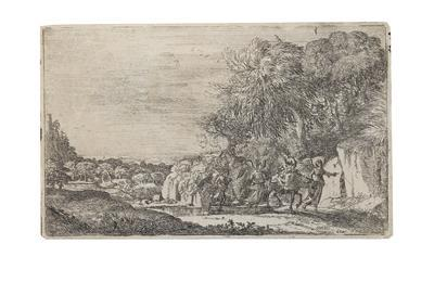 The Flight into Egypt by Claude Lorrain