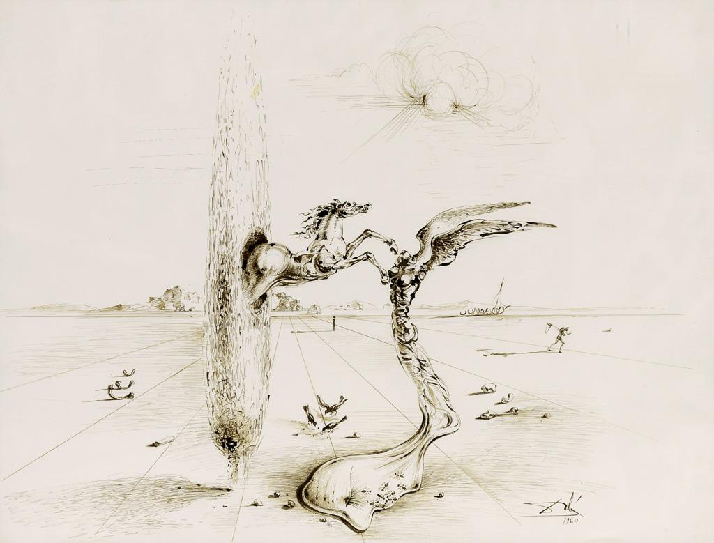 The Reality of a Dream by Salvador Dali