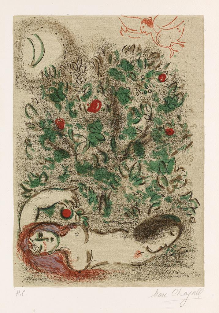 Paradise by Marc Chagall