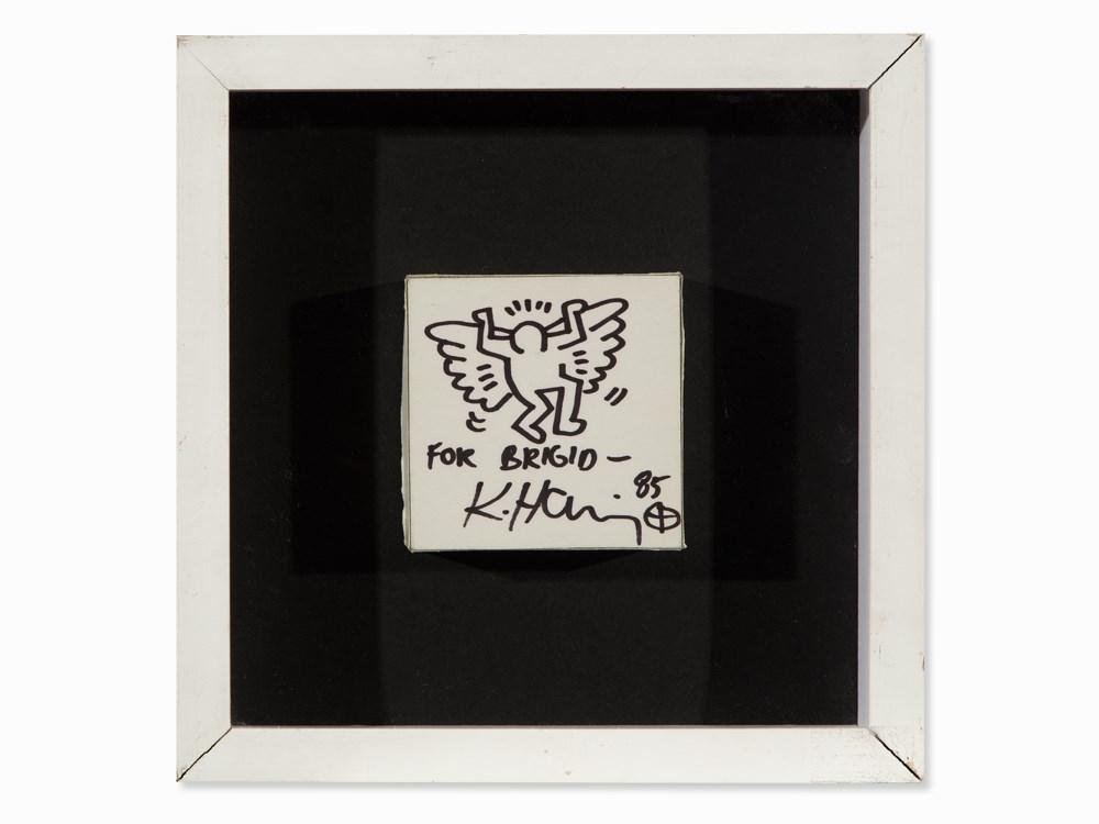 Angel for Bridgit Polk by Keith Haring