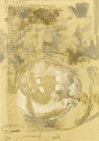Sack, from Stoned Moon Series by Robert Rauschenberg