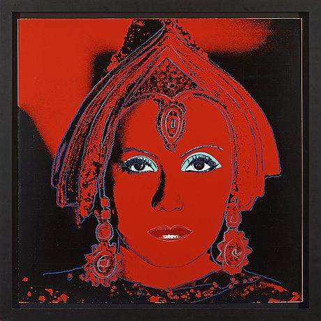 The Star (Greta Garbo), From: Myths by Andy Warhol