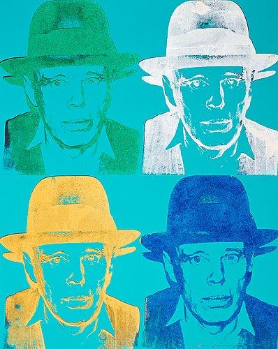 Joseph Beuys by Andy Warhol