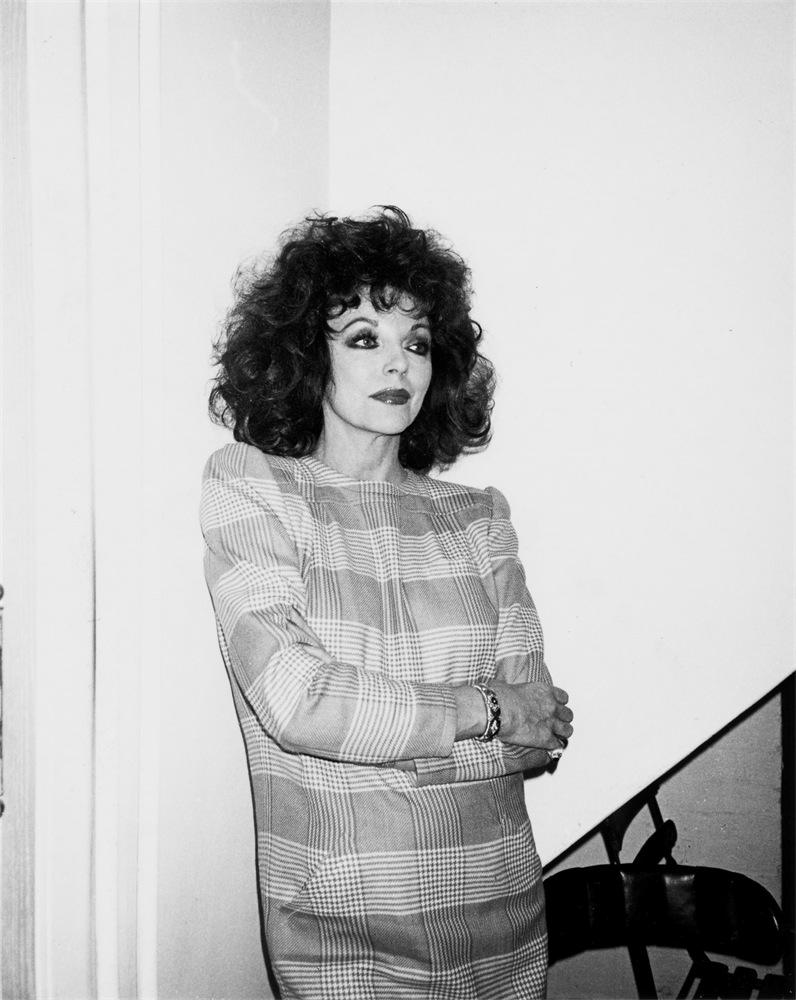 Joan Collins by Andy Warhol
