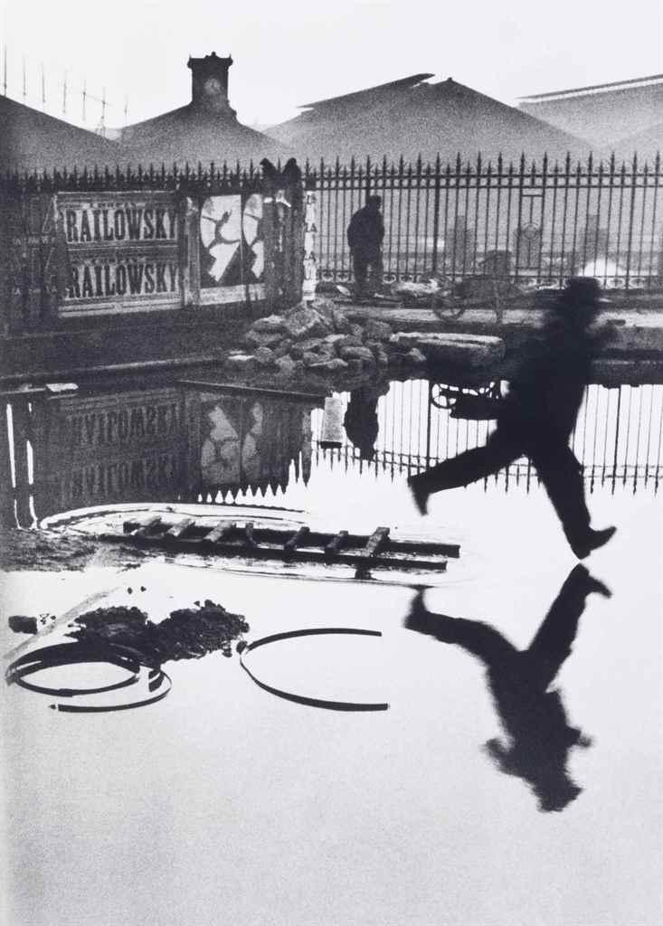 Behind the Gare St. Lazare, Paris, 1932 by Henri Cartier-Bresson