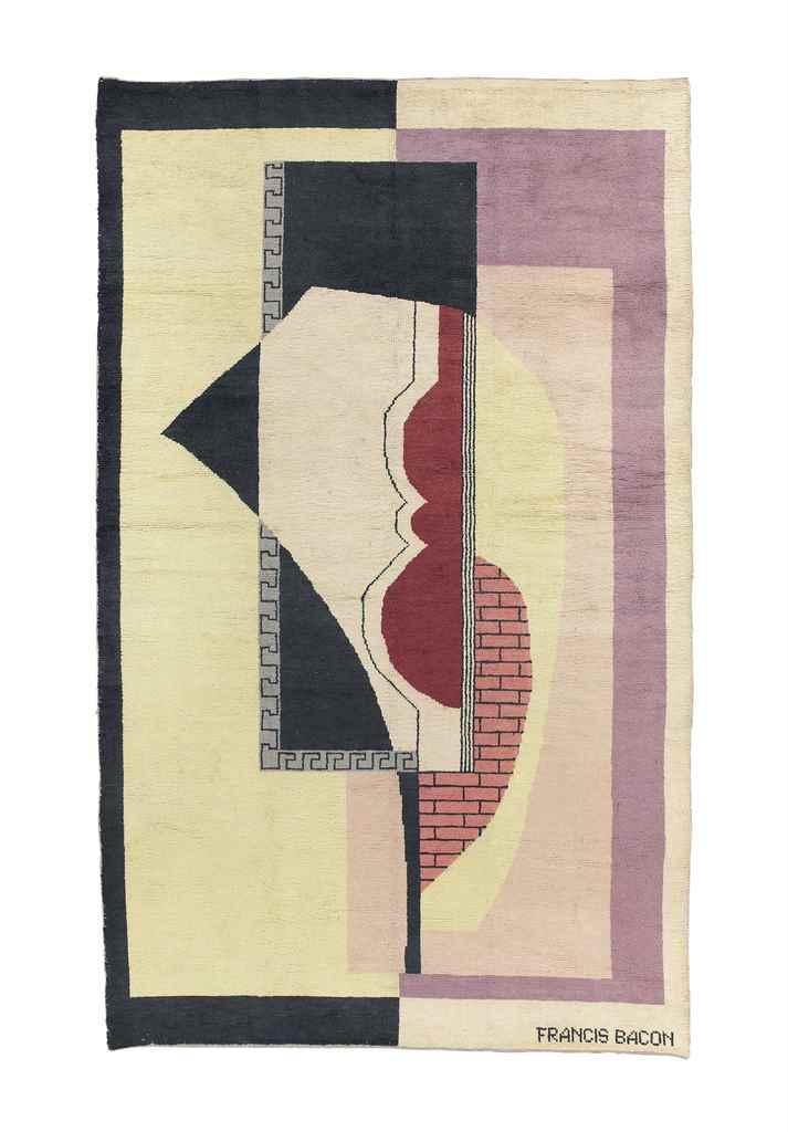 A Large Modernist Carpet, Circa 1930 by Francis Bacon