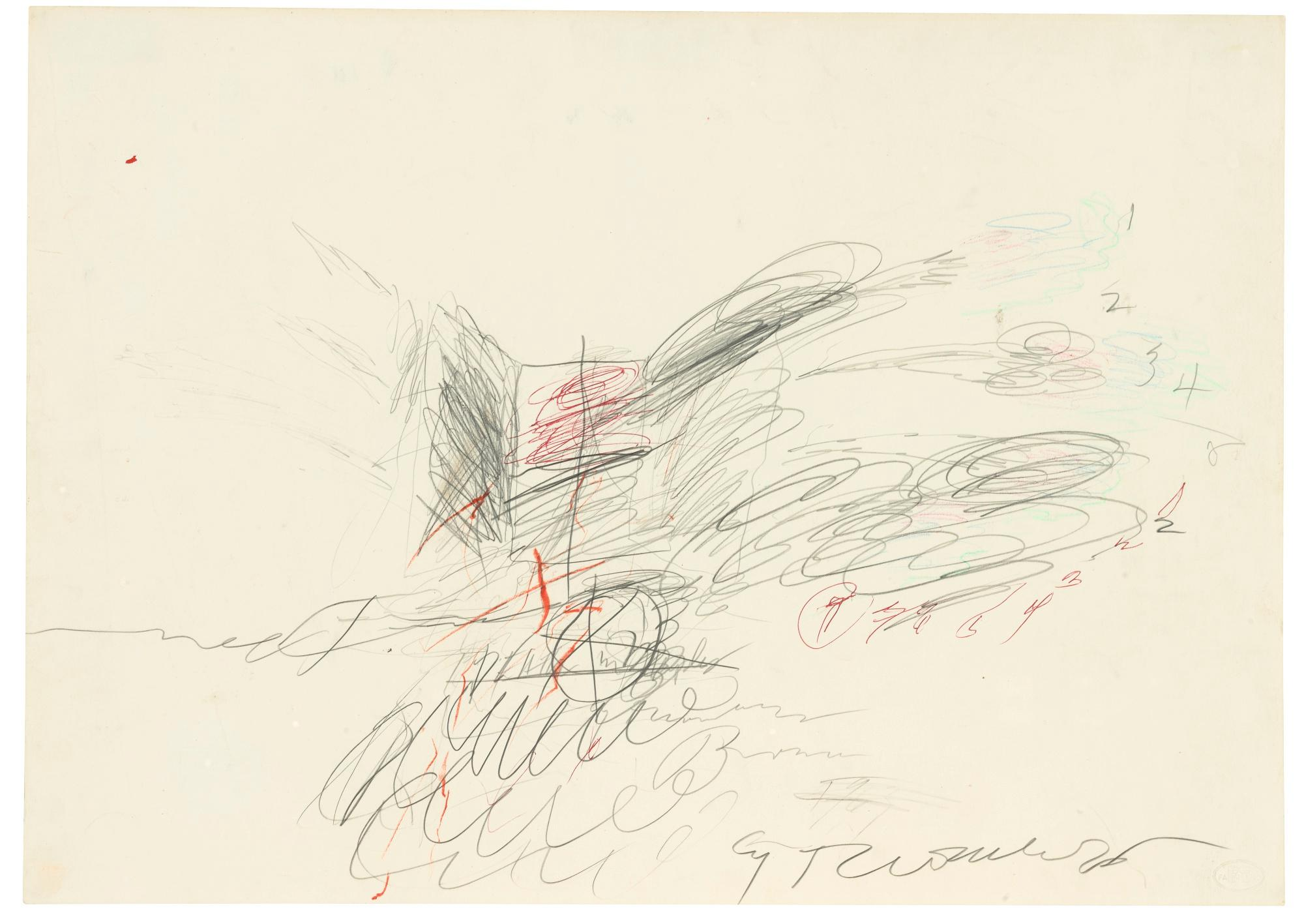 Untitled by Cy Twombly