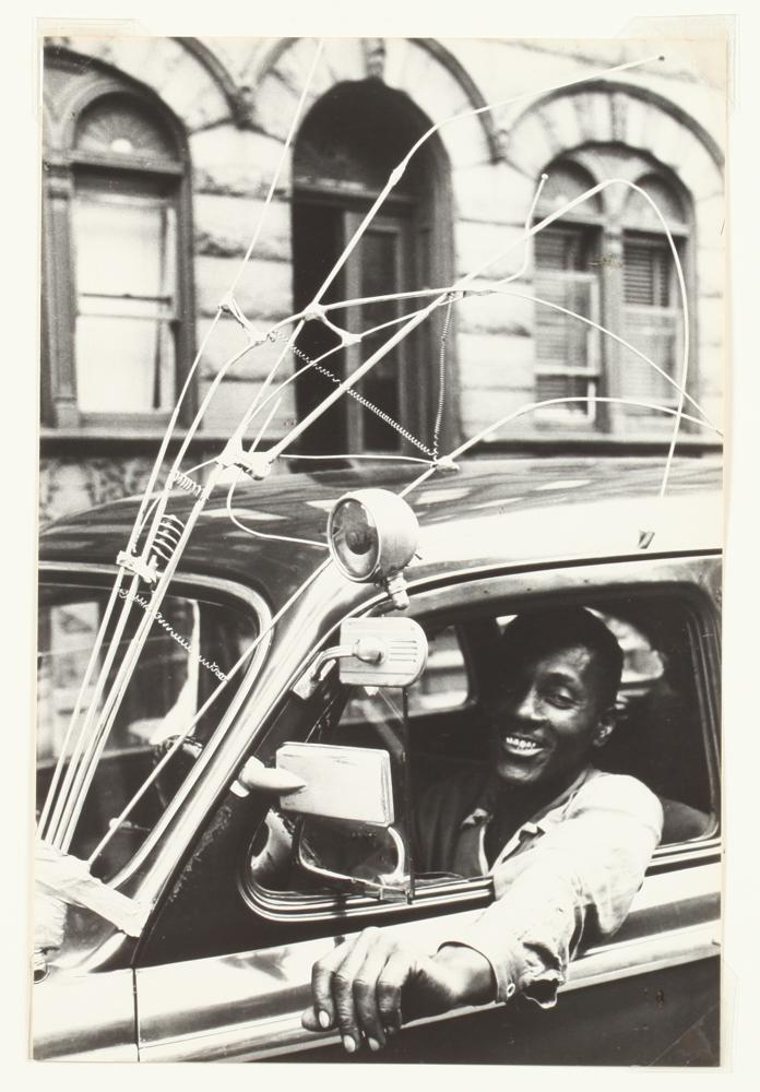 New York City, USA 1954, African American Cab Driver by Leonard Freed