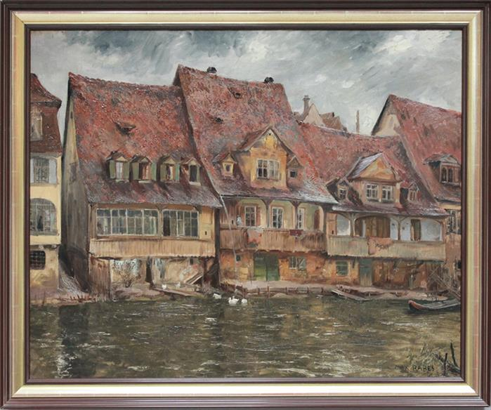 Alt Bamberg by Max Rabes