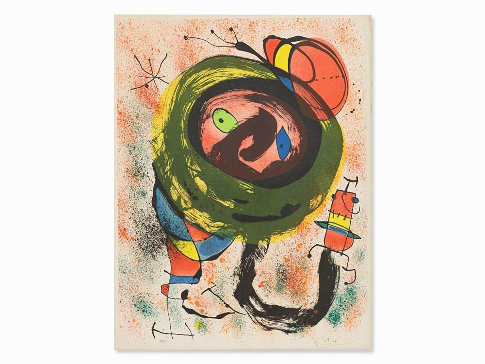 From: Les Voyants by Joan Miro