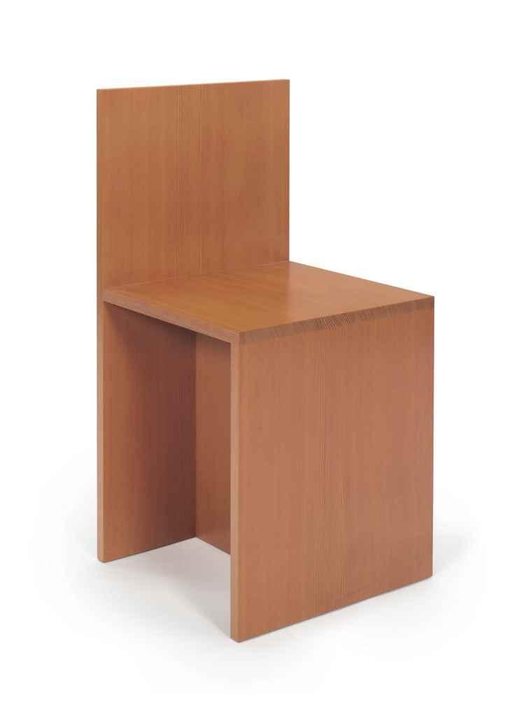 Chair by Donald Judd