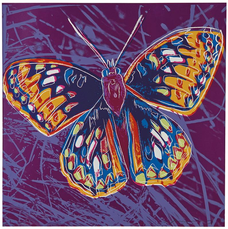 San Francisco Silverspot (from Endangered Species Portfolio) by Andy Warhol