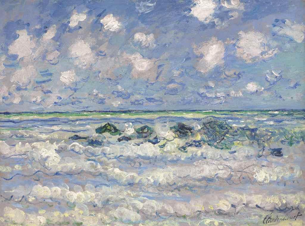 La Vague by Claude Monet