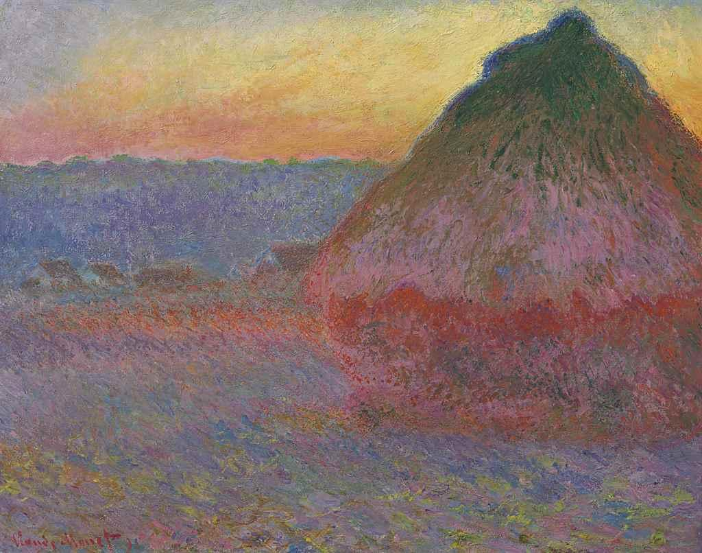 Meule by Claude Monet