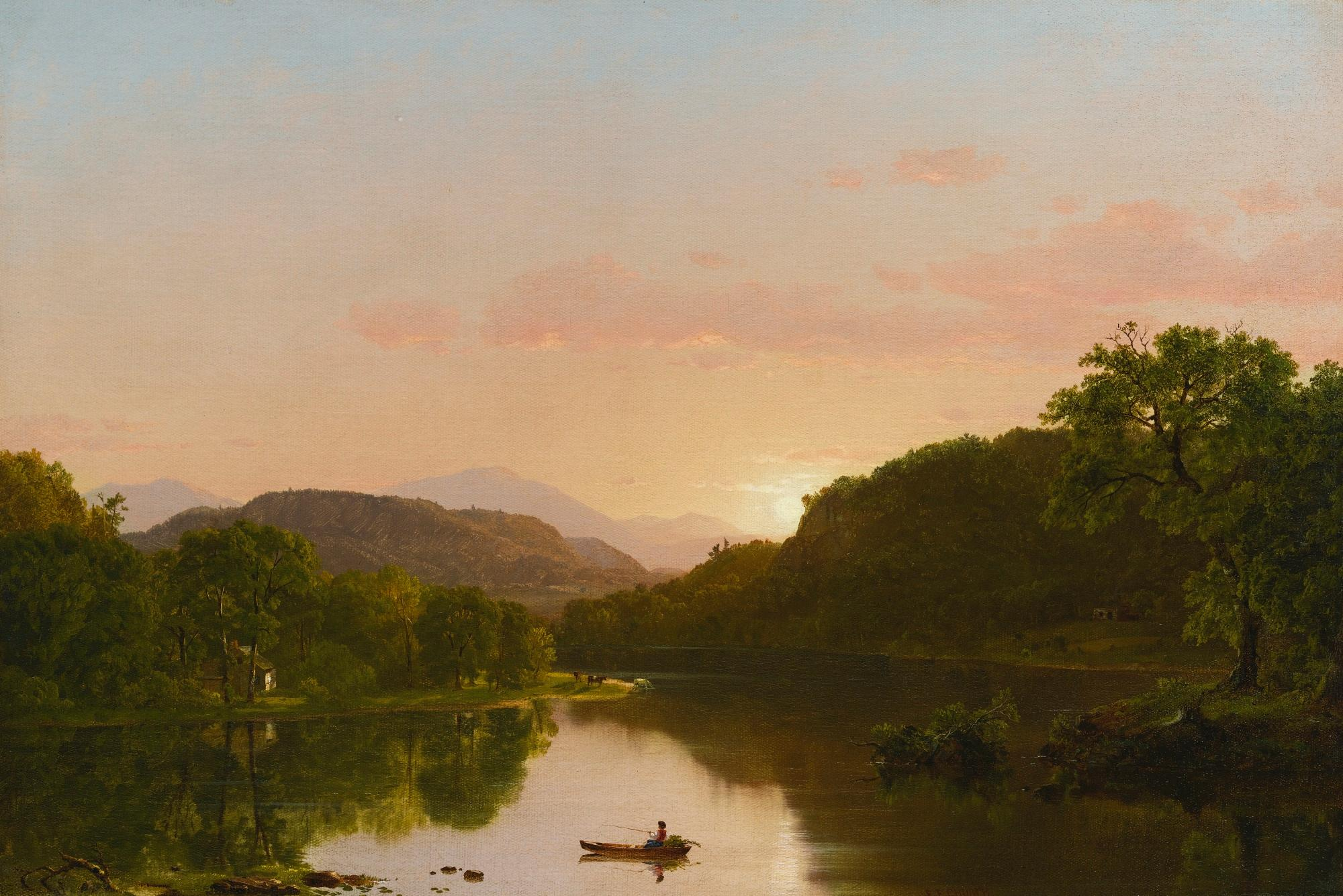 View in New England by Frederic Edwin Church